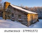fresh snow on the old lige... | Shutterstock . vector #379901572