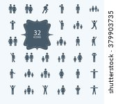 assembly of people silhouettes...   Shutterstock .eps vector #379903735