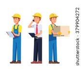 warehouse and delivery or... | Shutterstock .eps vector #379904272