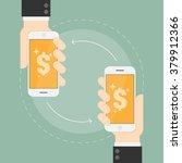 e payment. near field... | Shutterstock .eps vector #379912366