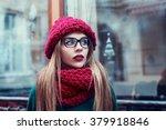 Street Portrait Of Beautiful...