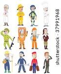 profession | Shutterstock .eps vector #37991968