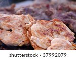 chicken steak | Shutterstock . vector #37992079