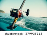 Fishing trolling tuna with a...