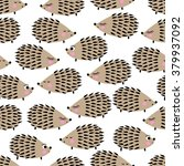 seamless pattern with cute... | Shutterstock .eps vector #379937092