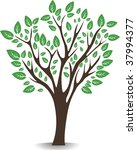 nice tree | Shutterstock .eps vector #37994377