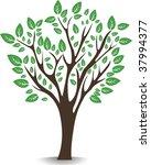 nice tree | Shutterstock .eps vector #37994377