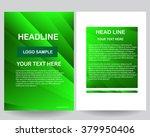 abstract vector modern flyers... | Shutterstock .eps vector #379950406
