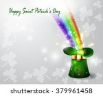 St Patricks Day Green Hat  With ...