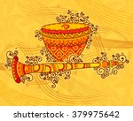 vector design of art and music... | Shutterstock .eps vector #379975642