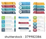 set of infographic templates... | Shutterstock .eps vector #379982386