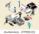 beautiful isometric style... | Shutterstock .eps vector #379985152