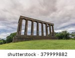 national monument of scotland... | Shutterstock . vector #379999882