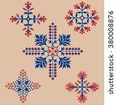 floriated ornament   pattern | Shutterstock .eps vector #380008876