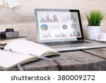 laptop  page  table. | Shutterstock . vector #380009272