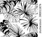 vector illustration tropical... | Shutterstock .eps vector #380011876