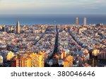 cityscape of barcelona  spain   Shutterstock . vector #380046646