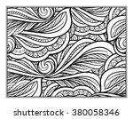 vector abstract pattern page... | Shutterstock .eps vector #380058346