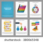 collection infographics for... | Shutterstock .eps vector #380065348