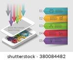 3d infographics inside... | Shutterstock .eps vector #380084482