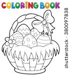 Coloring Book Easter Basket...