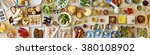 food buffet catering dining... | Shutterstock . vector #380108902