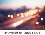 blurred defocused colorful... | Shutterstock . vector #380114716
