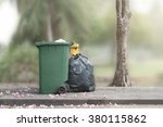 bins and trash  | Shutterstock . vector #380115862