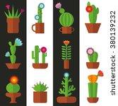 cactus seamless pattern.modern...   Shutterstock .eps vector #380139232