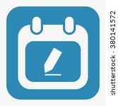 calendar icon   Shutterstock .eps vector #380141572