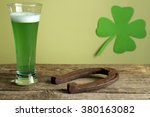 St. Patrick's Day Green Beer...