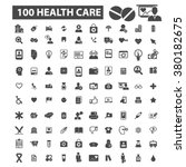 health icons | Shutterstock .eps vector #380182675