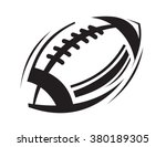 Vector Black Football Icons On...