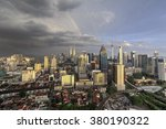 dramatic scenery of the kuala... | Shutterstock . vector #380190322