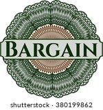 bargain abstract linear rosette | Shutterstock .eps vector #380199862