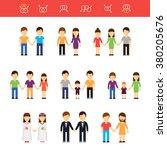 vector flat illustration of... | Shutterstock .eps vector #380205676