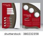 abstract flyer design... | Shutterstock .eps vector #380232358