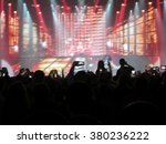 abstract blurred image. crowd... | Shutterstock . vector #380236222