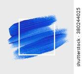 logo paint template. original... | Shutterstock .eps vector #380244025