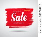 sale vector template design | Shutterstock .eps vector #380248216