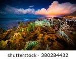 night view of the nature... | Shutterstock . vector #380284432