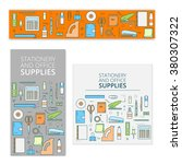 set of bright templates  for... | Shutterstock .eps vector #380307322