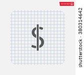 dollar sign icon   Shutterstock .eps vector #380314642
