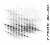 abstract grunge grid polka dot... | Shutterstock .eps vector #380322586