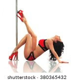 pole dancing | Shutterstock . vector #380365432