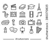 culture icons collections | Shutterstock .eps vector #380370835
