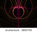 valentine or heart pattern... | Shutterstock . vector #3803740