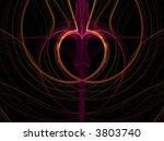 valentine or heart pattern...   Shutterstock . vector #3803740