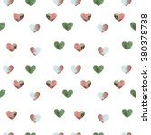 heart pattern | Shutterstock . vector #380378788
