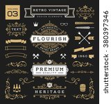 set of retro vintage graphic... | Shutterstock .eps vector #380397346